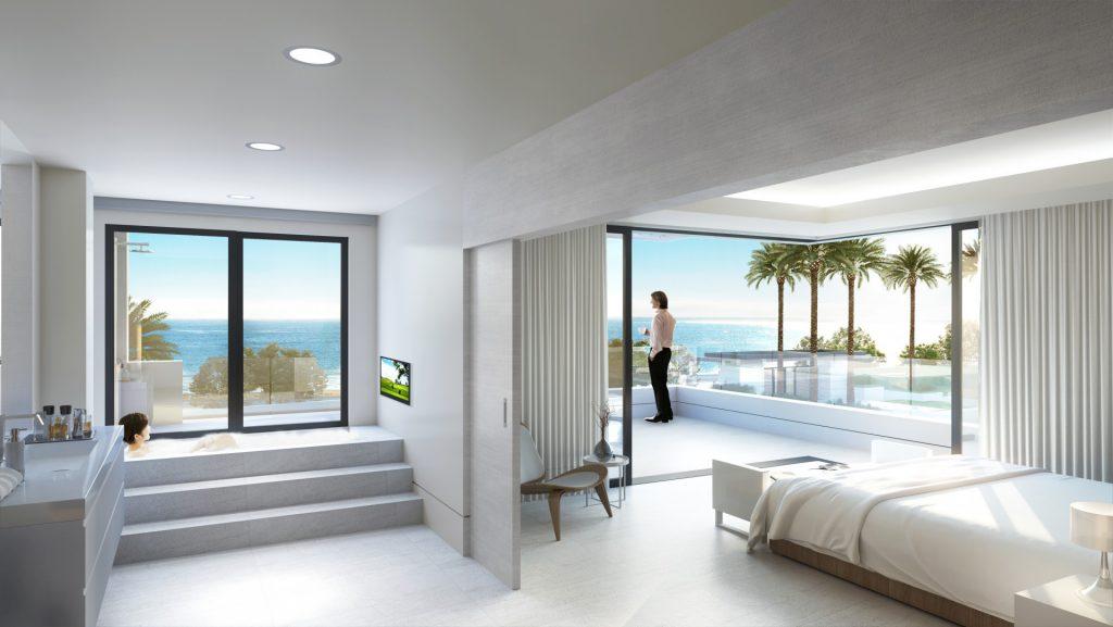Estepona beach side property