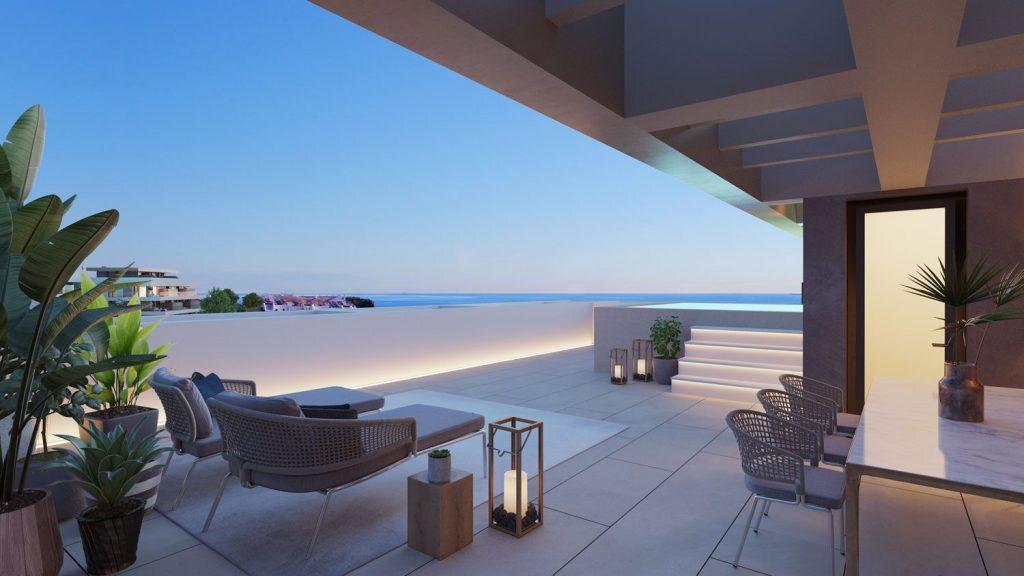La Cancelada penthouse with pool