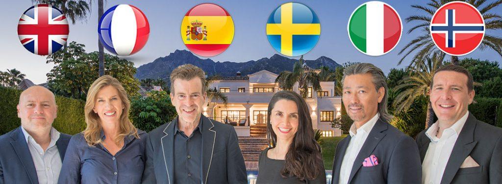 Marbella Luxury Villa Sales Team